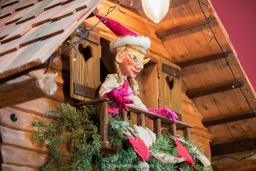 le chalet des lutins decor de Noël