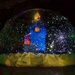 Animation de Noel, la boule à neige